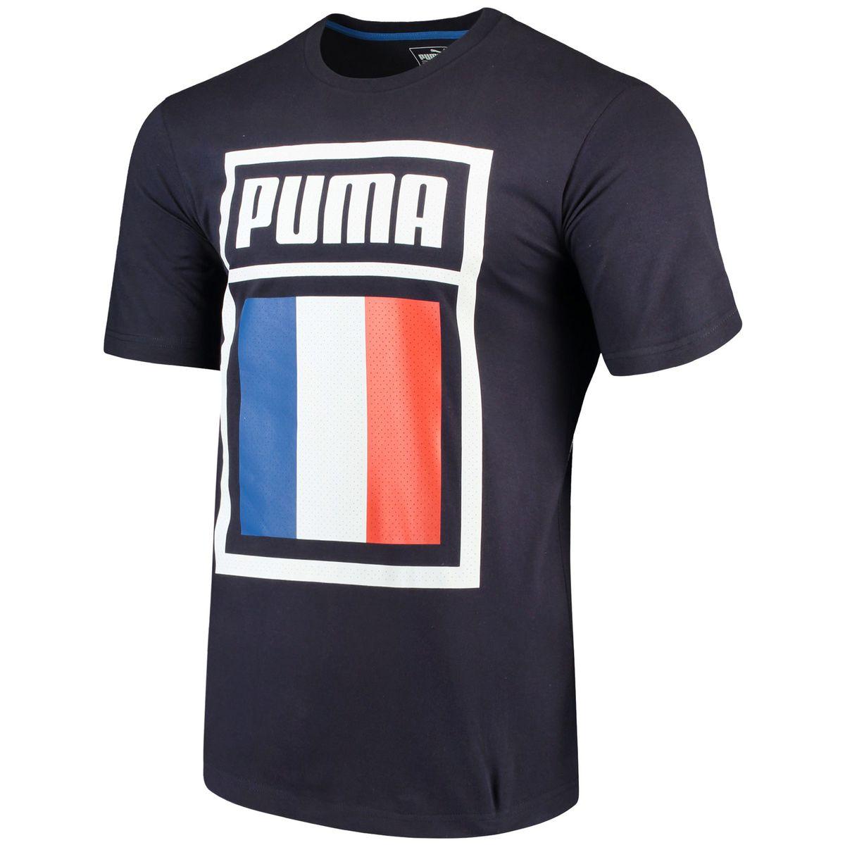2304c50bb1e France National Team Puma Forever Football Country Cotton T-Shirt for   24.99 Fanatics
