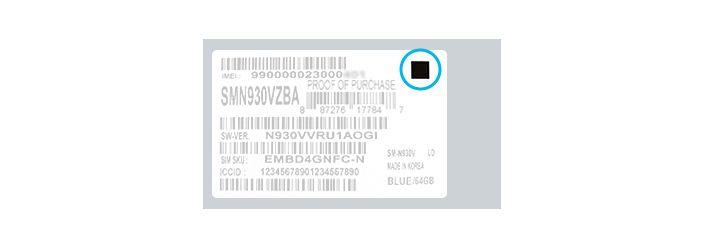 Galaxy Note 7 battery box icon