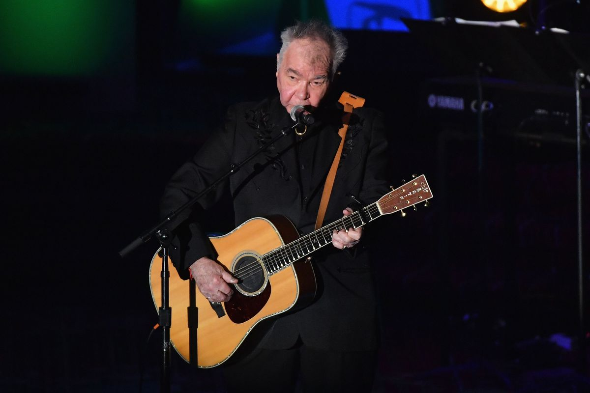 John Prine performs during the 2019 Songwriters Hall of Fame Gala in New York City.