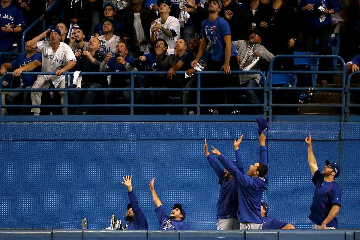 Division Series - Texas Rangers v Toronto Blue Jays - Game Five