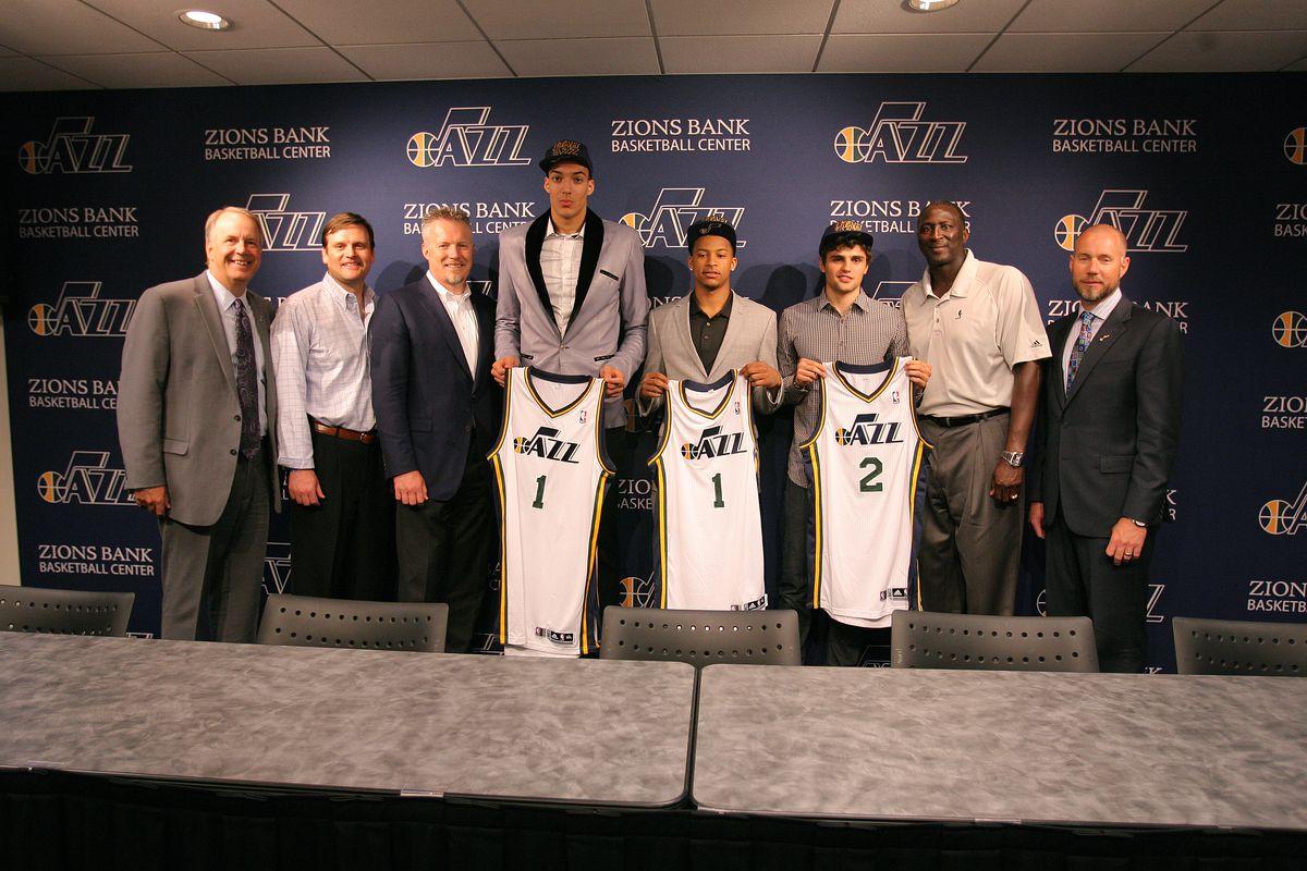 Utah Jazz 2013 Draft Press Conference