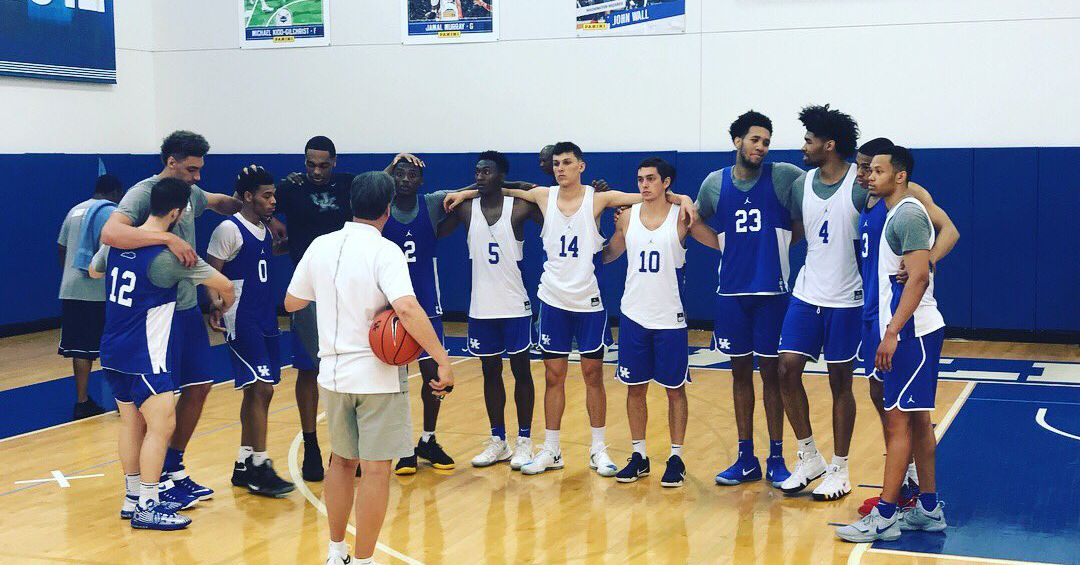 Kentucky Basketball Announces TV Schedule, Game Times And