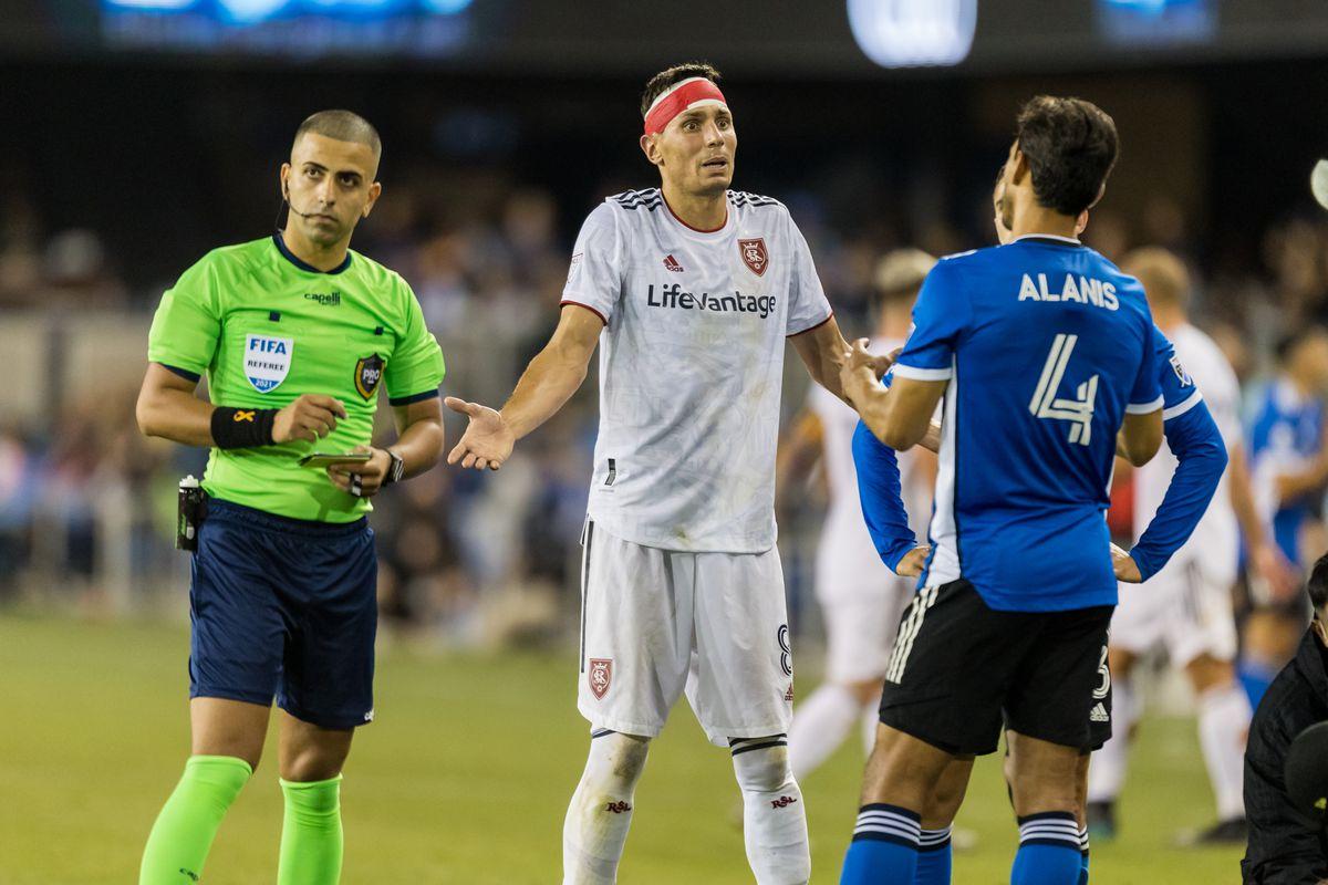 SOCCER: SEP 15 MLS - Real Salt Lake at San Jose Earthquakes