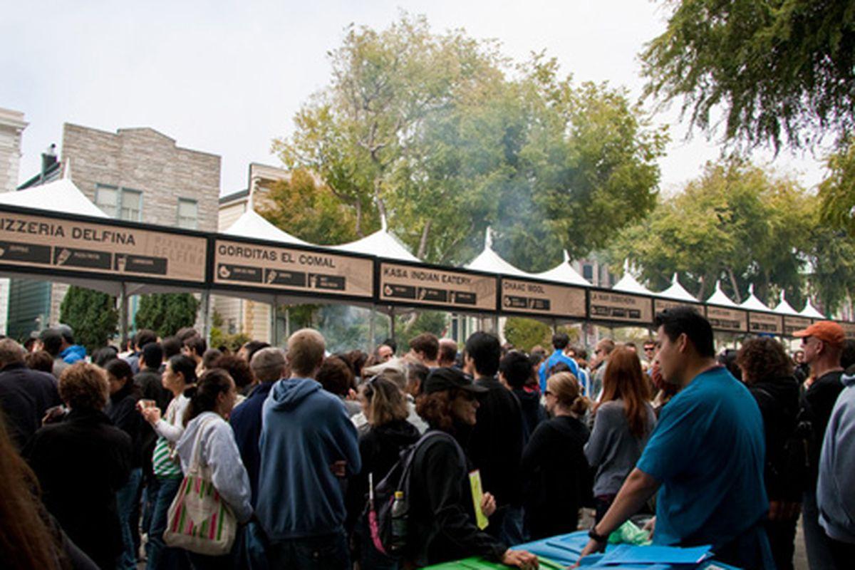 Saturday's Street Food Festival.