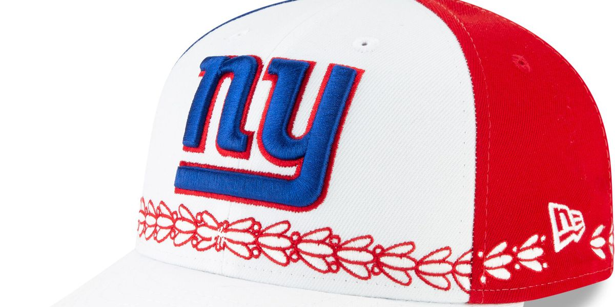 a098571c The 2019 NFL Draft hats from New Era are here. What do you think, New York  Giants fans? I just want to know what is with all the red.