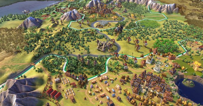 Civilization 6 on iPad is a marvel