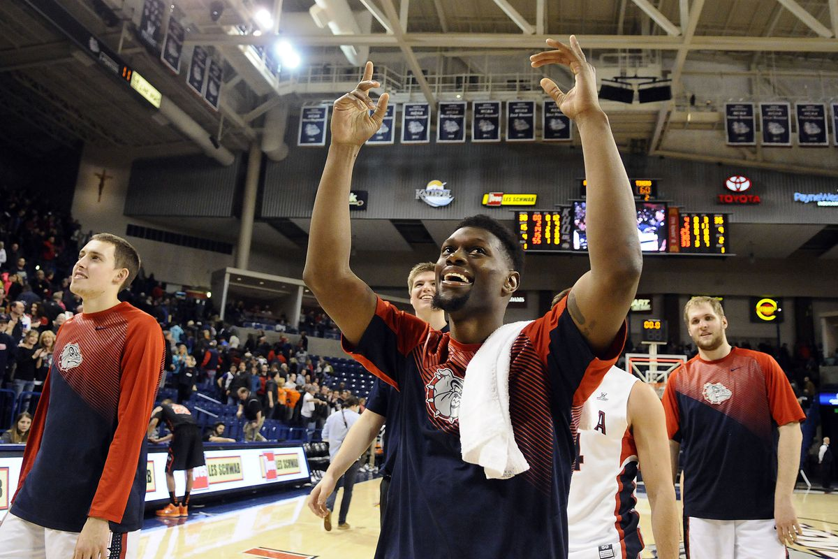 Gonzaga is happy atop the West Coast Conference.