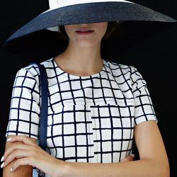 A sophisticated sun hat.