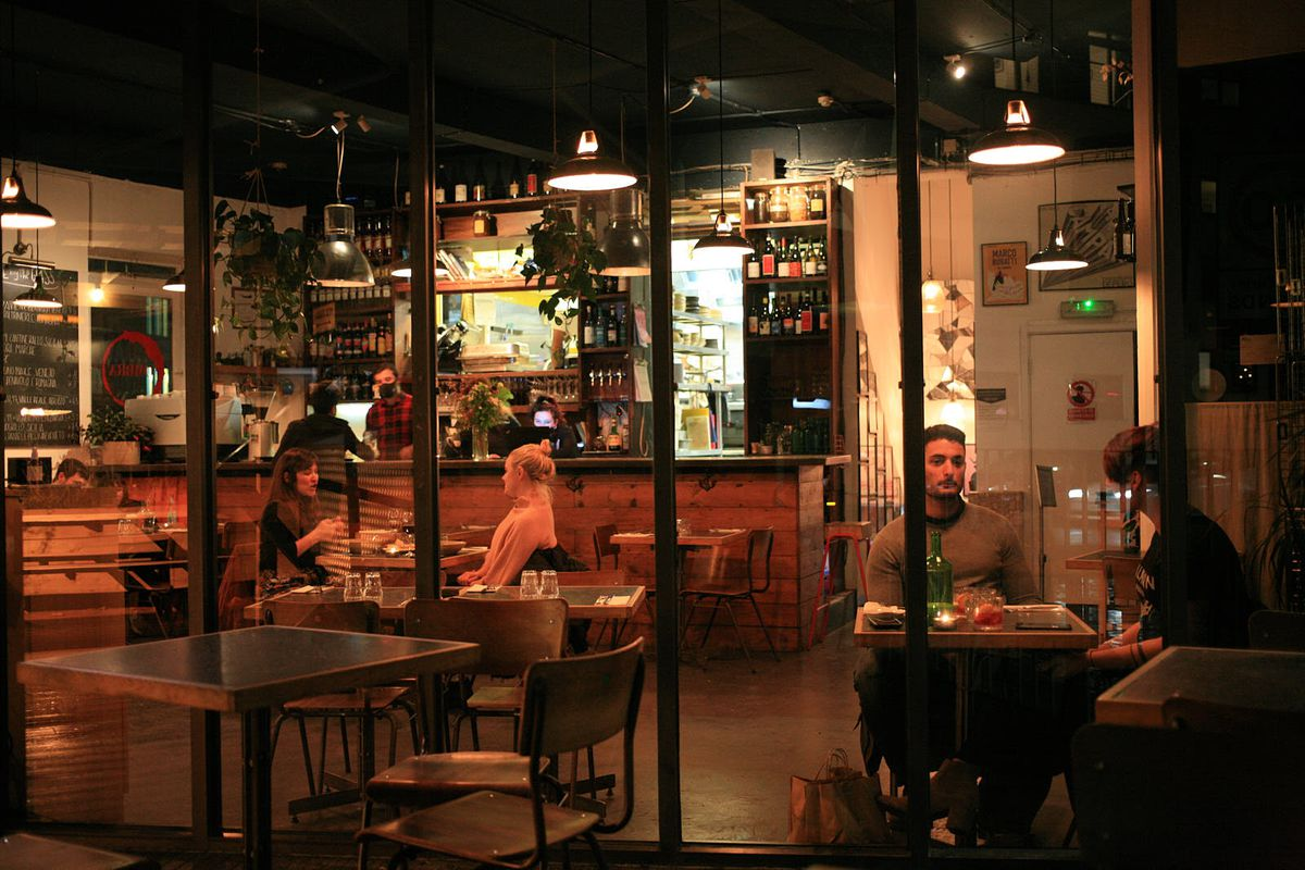 Ombra, off Mare Street, open again after lockdown in England