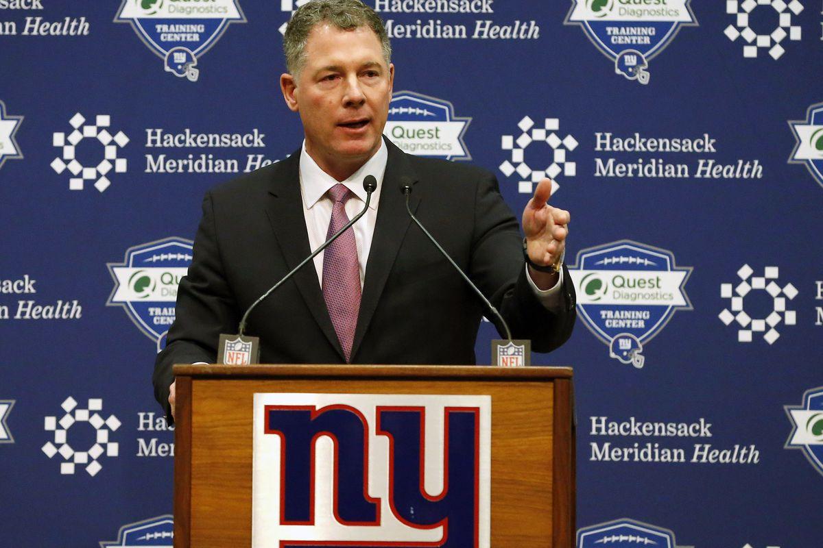 NFL: New York Giants-Pat Shurmur Press Conference