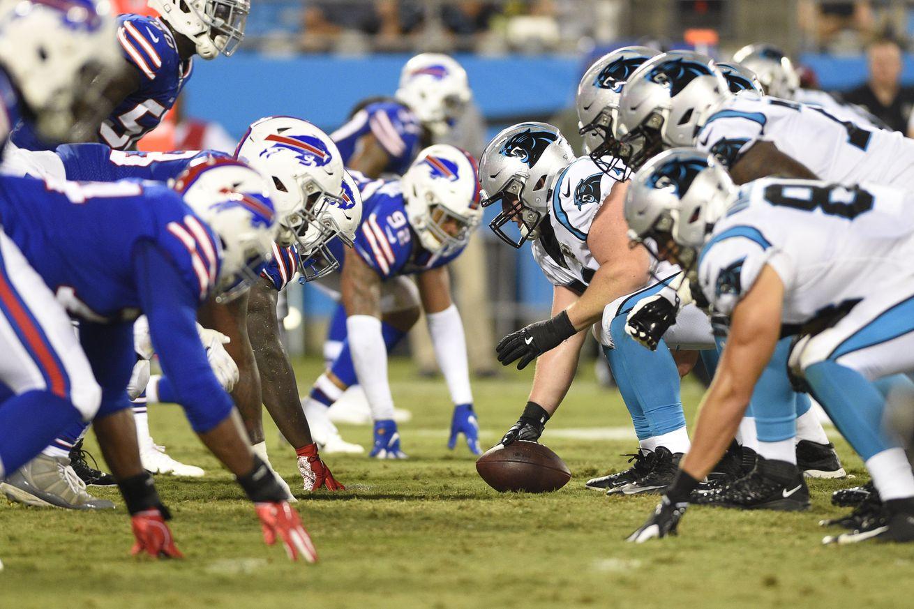 NFL: Preseason-Buffalo Bills at Carolina Panthers