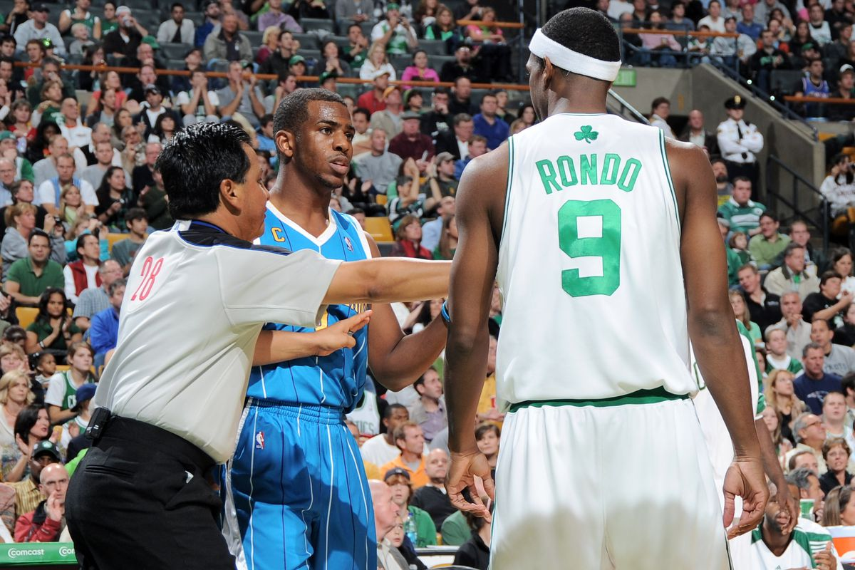 The Chris Paul vs  Rajon Rondo beef has been stewing for 10