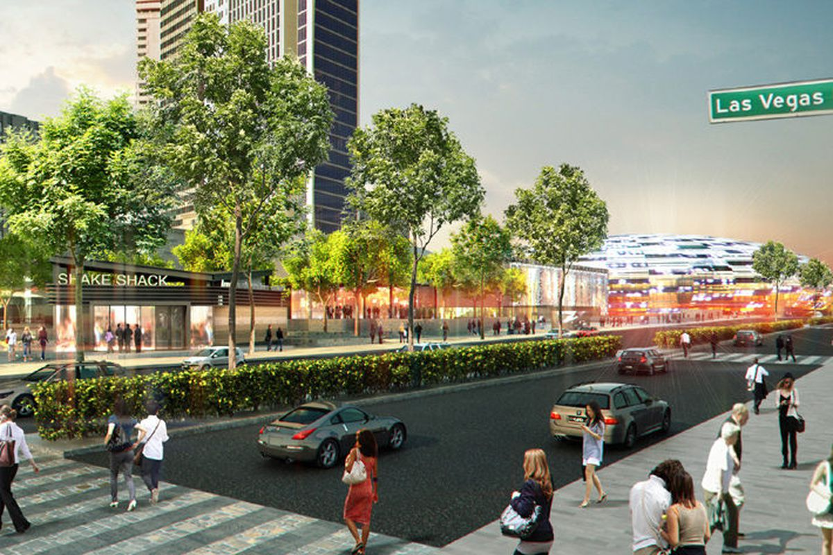Shake Shack will sit at the gateway to the NYC style park.