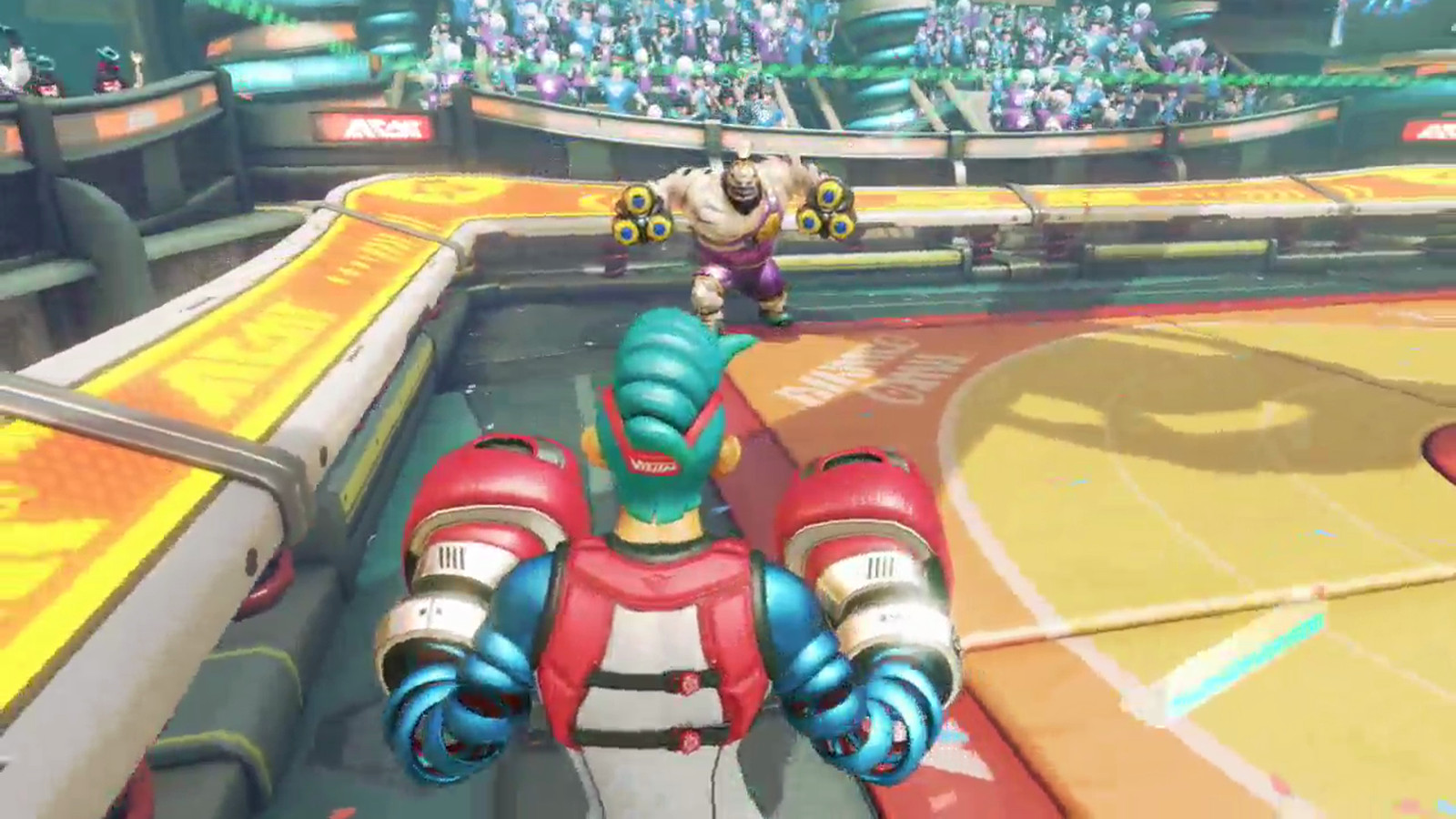 watch 30 minutes of arms gameplay on the nintendo switch