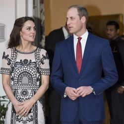 Kate wore Temperley London to a celebration of the Queen's 90th birthday. The two-piece outfit is sold out, but the short version is on sale for $2,285.