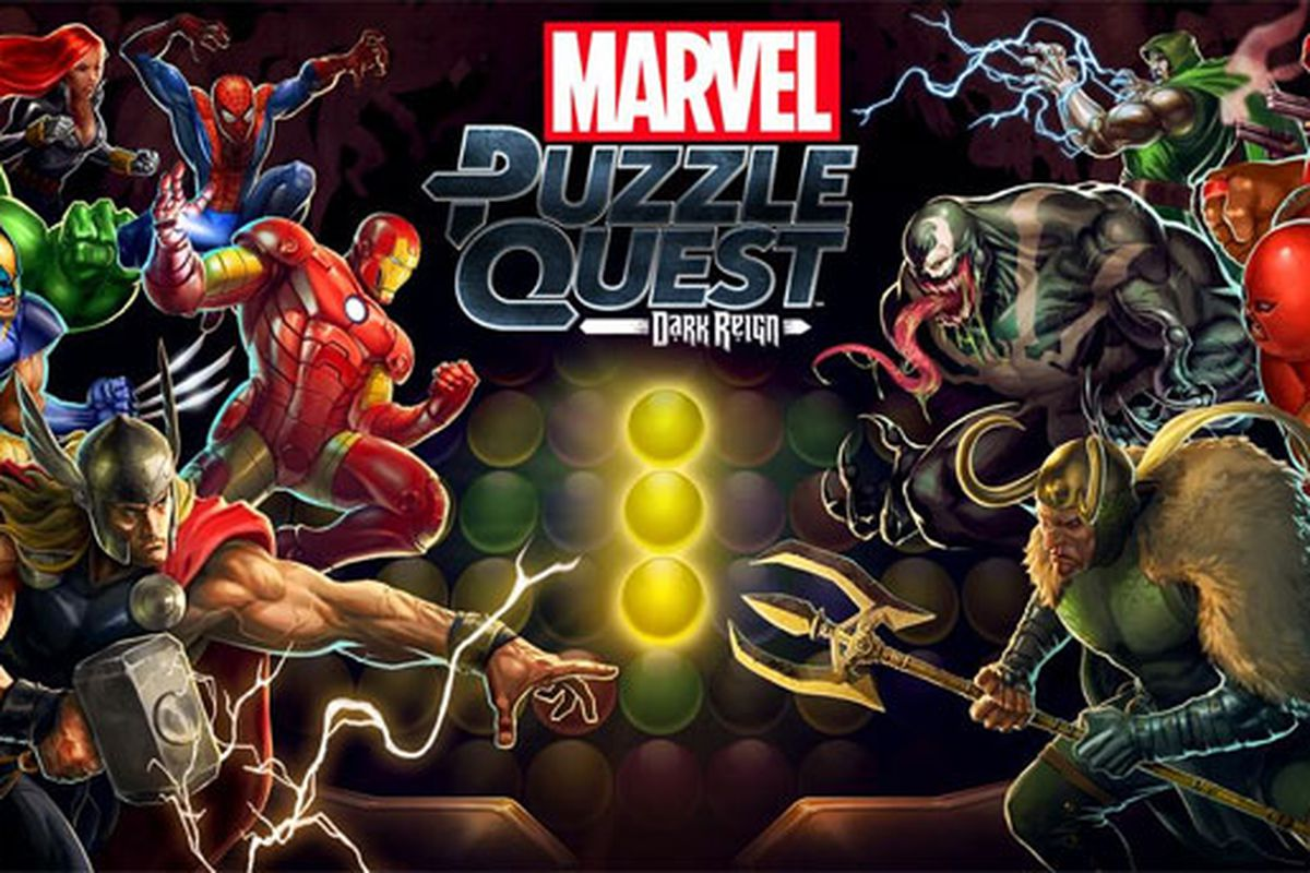 Marvel Puzzle Quest: Dark Reign launches for iOS, Android Oct  3
