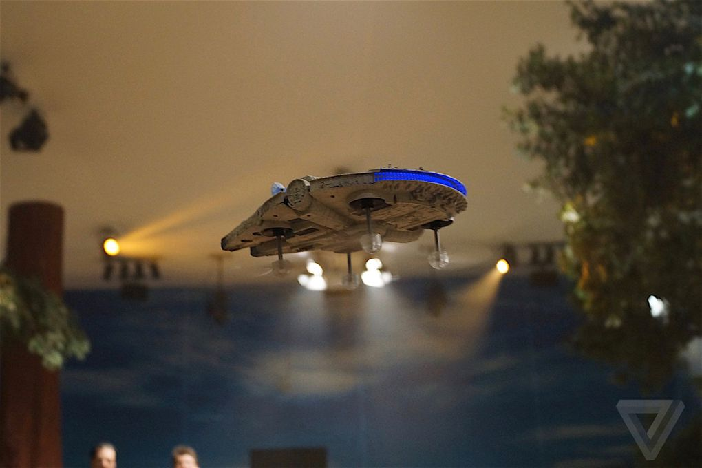 These Amazing Star Wars Drones Let You Battle With The