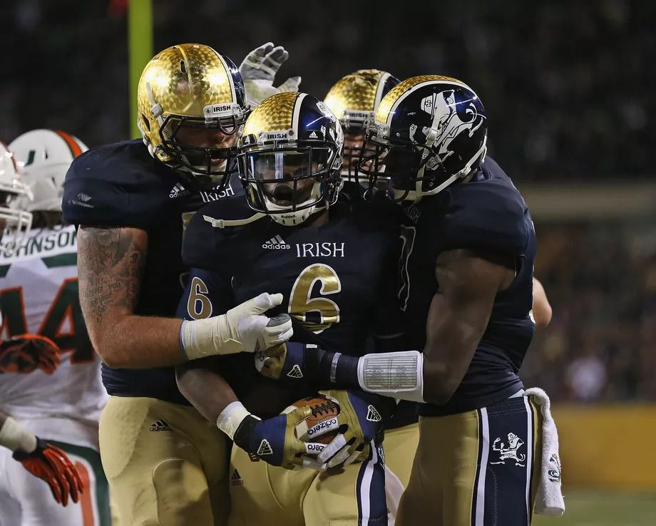best website 2d3c5 934bf Notre Dame's the first non-Nike school to ever make the ...