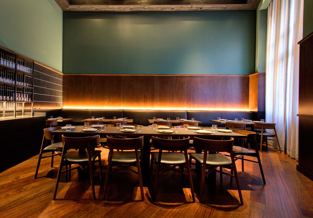 A private dining room at Majordomo