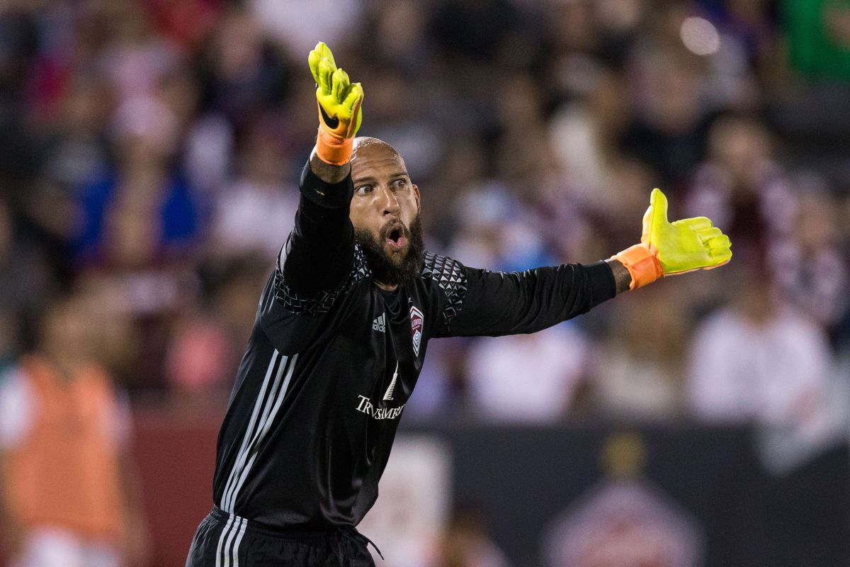 Tim Howard might be the reason Colorado hangs on to a high playoff position.