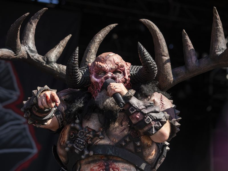 Gwar performs on day two of Riot Fest in Douglas Park in 2019. They're playing this year's fest on Saturday afternoon.