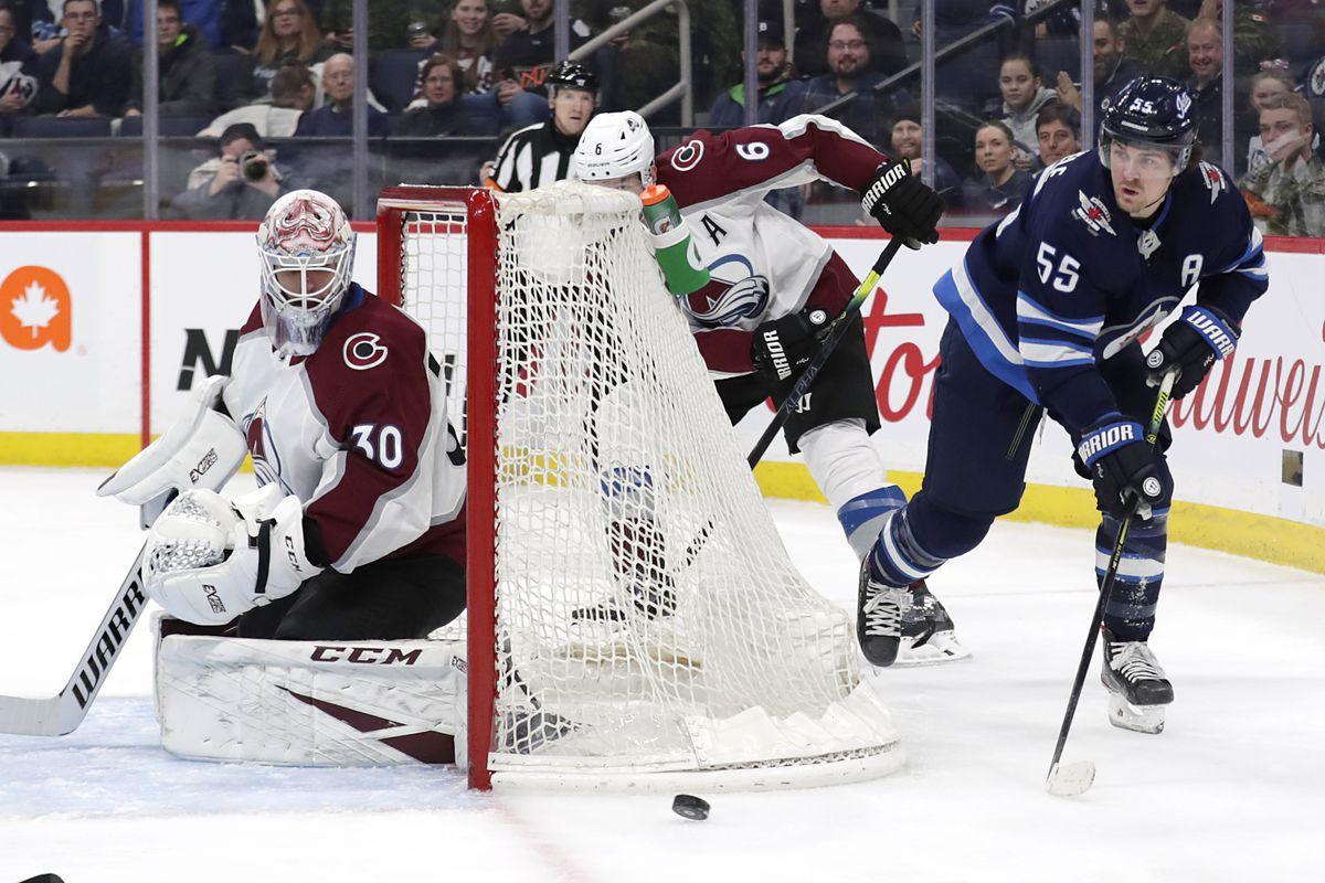 NHL: Colorado Avalanche at Winnipeg Jets