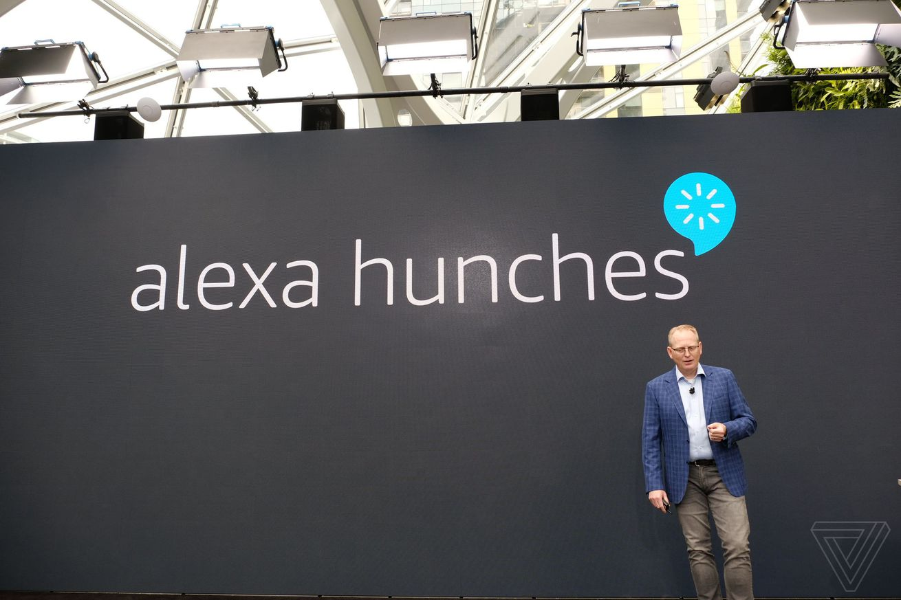 alexa hunches can now suggest actions based on daily behavior
