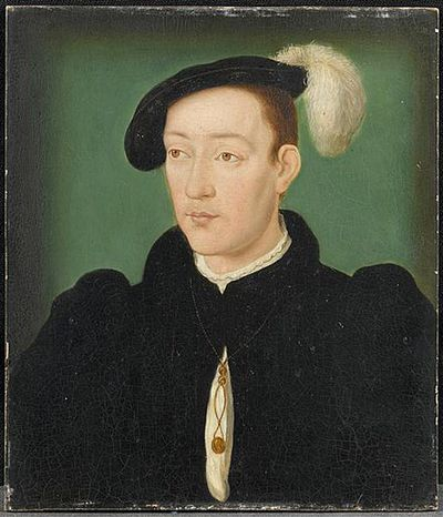 A painting of the Dauphin, Francis III, Duke of Brittany