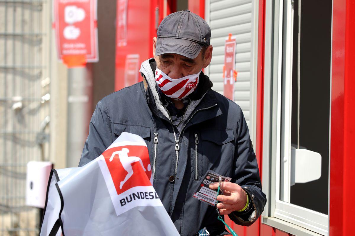 Bundesliga Resumes Season After Nationwide Lockdown Due To The Ongoing Coronavirus Crisis