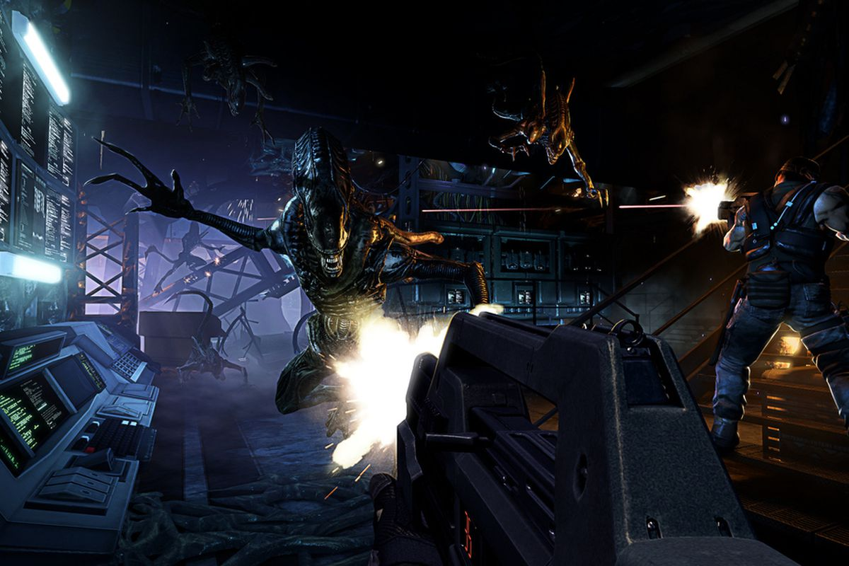 Gearbox Software/Sega. The unforgettably awful Aliens: Colonial Marines ...