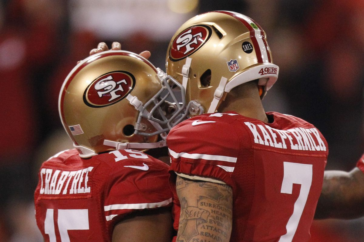 The Crabtree Kaepernick Connection Makes A Michael Crabtree