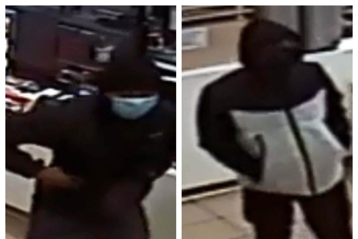 Police are looking for two suspects who robbed a McDonalds at gunpoint March 31, 2020, in Zion.