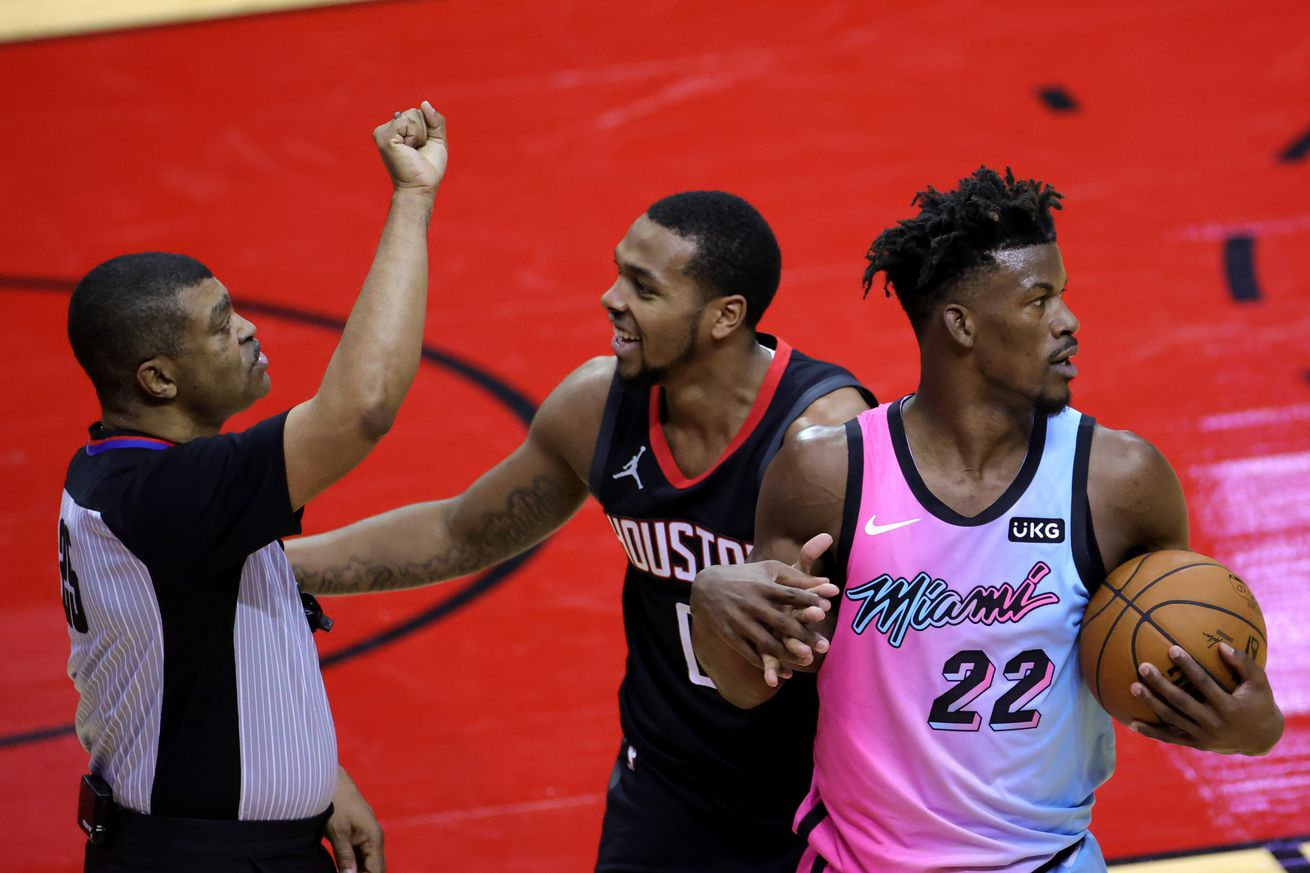 NBA: Miami Heat at Houston Rockets