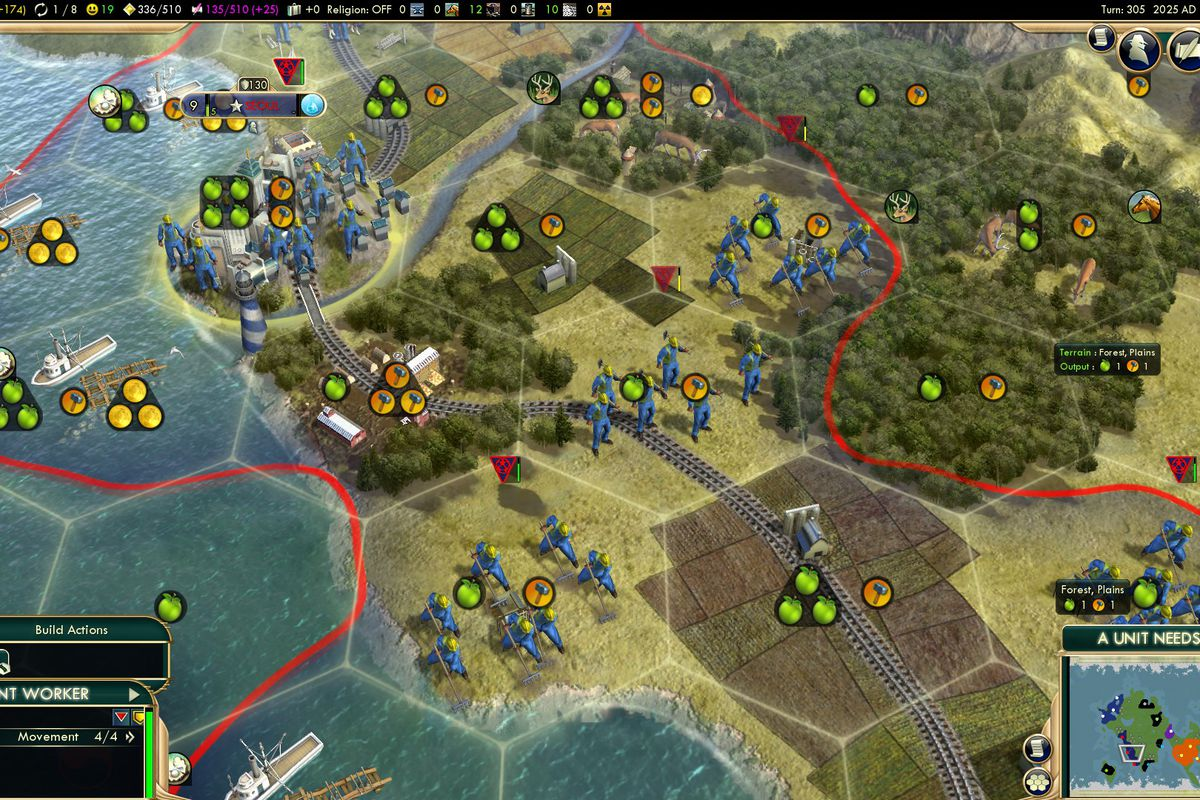 Civilization 5 mod lets you exploit migrant workers in the
