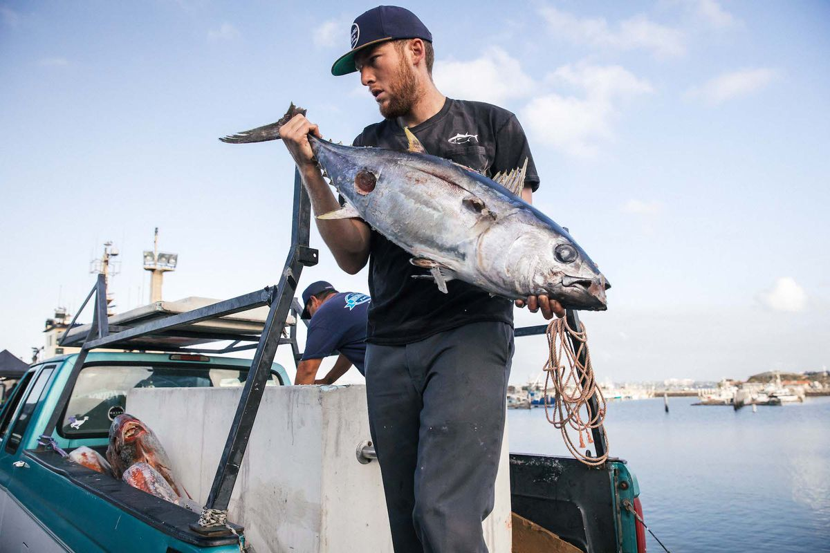 A rising tide san diego chefs are celebrating local for Tides for fishing san diego