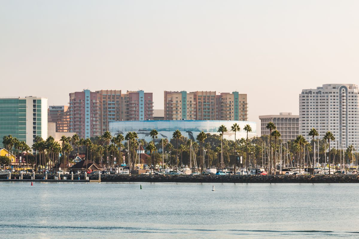 Long Beach convention center arena
