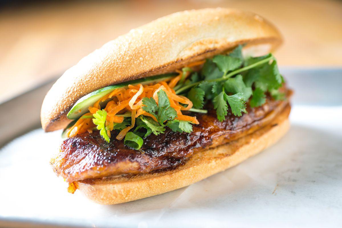 A Num Pang sandwich