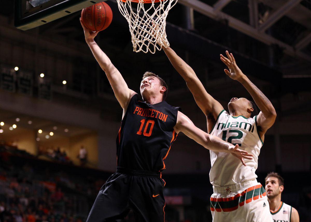 NCAA Basketball: Princeton at Miami