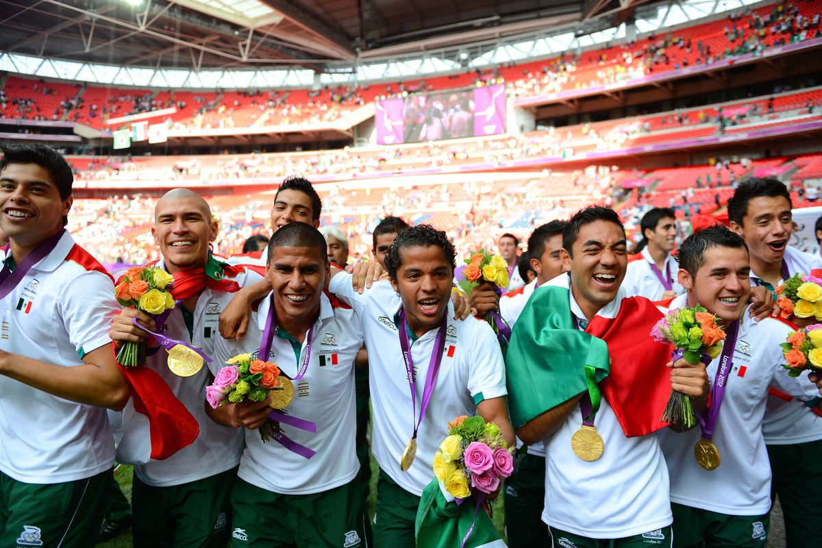 Mexico's road to football success doesn't end with the gold medal victory over Brazil.