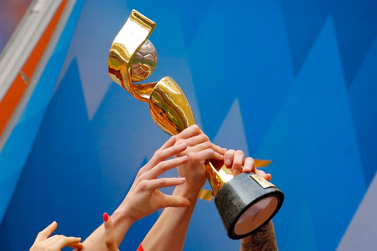 The FIFA Women's World Cup Trophy