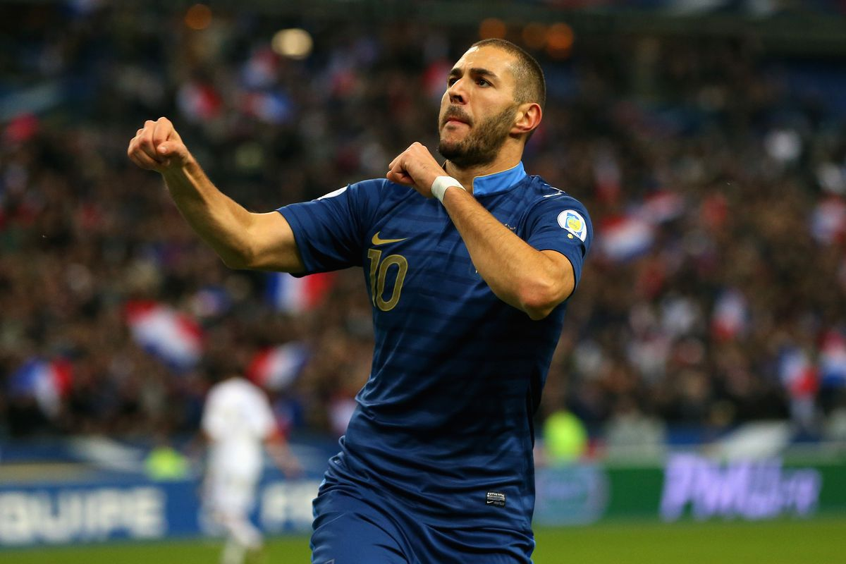 No, the world isn't ending. But Karim Benzema did score two games in a row for France!
