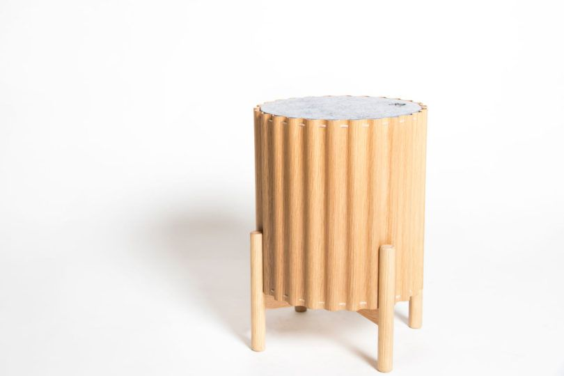 Small space furniture by Studio Corelam was made to be moved