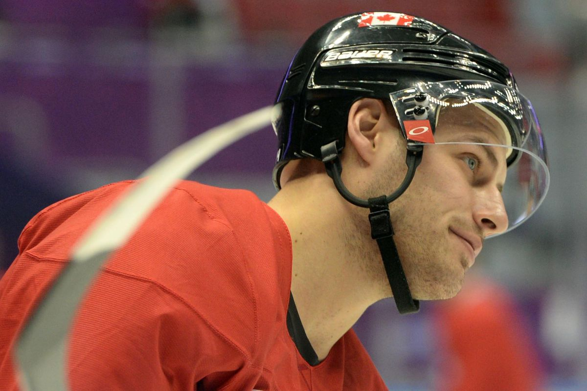 Canada's Ryan Getzlaf is donating $100 for every goal scored.