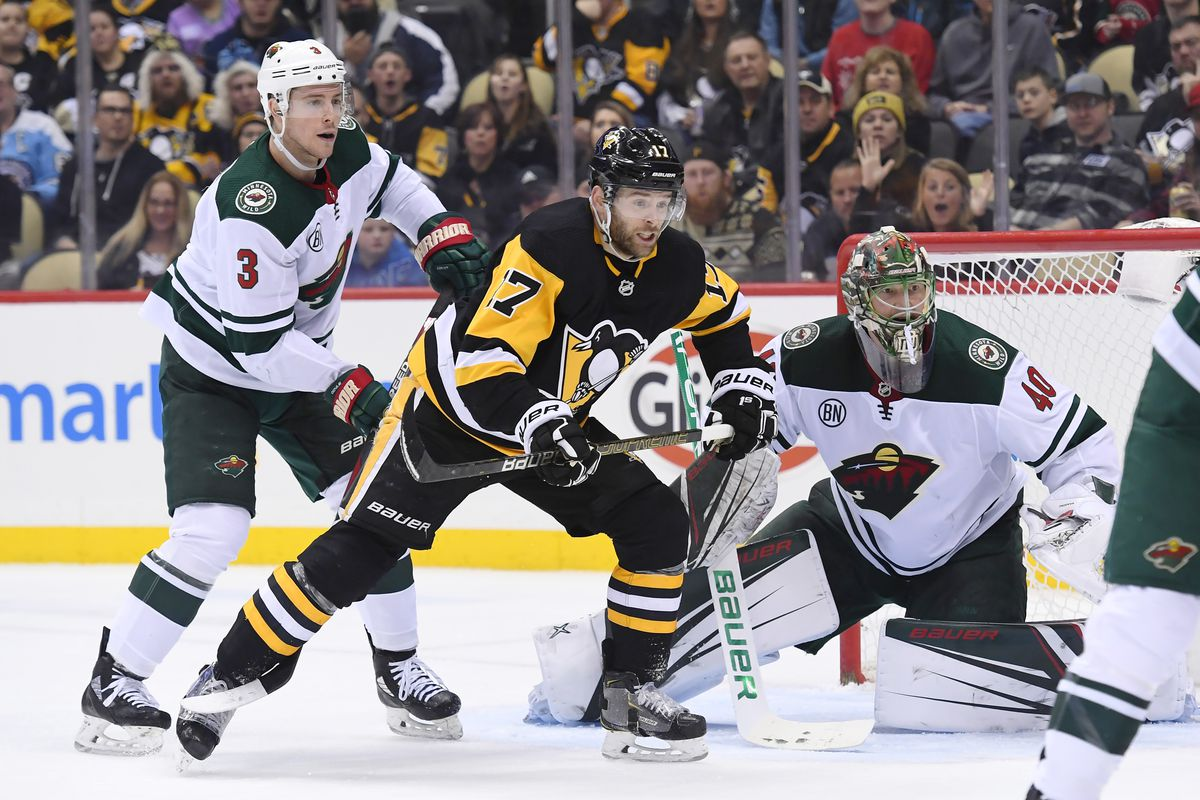 NHL: DEC 20 Wild at Penguins