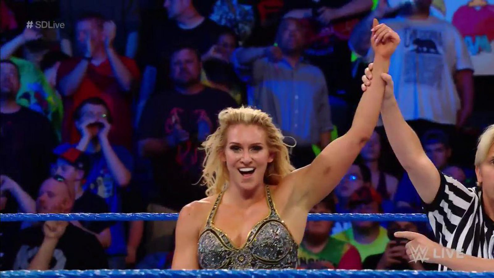 Charlotte Earns Title Match Against Naomi On Smackdown -8332