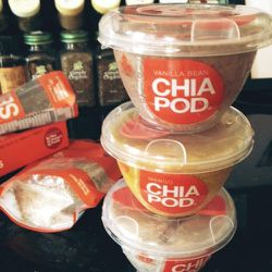 """Stocked up on <a href="""" http://www.thefashionspot.com/life/308699-15-healthy-snacks/#/slide/7"""">Chia Pods</a>."""