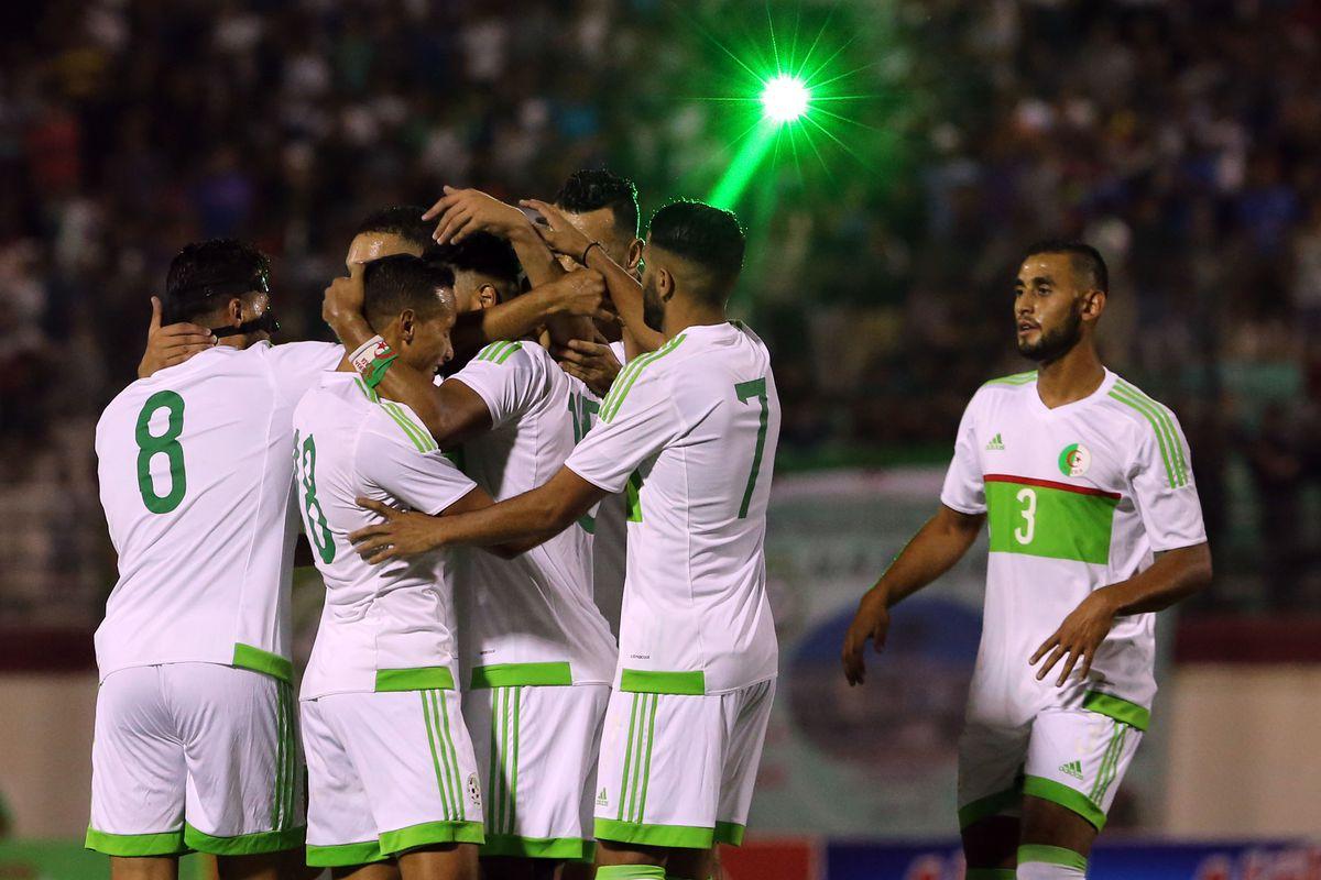 Algeria v Lesotho - African Cup 2017 qualifying