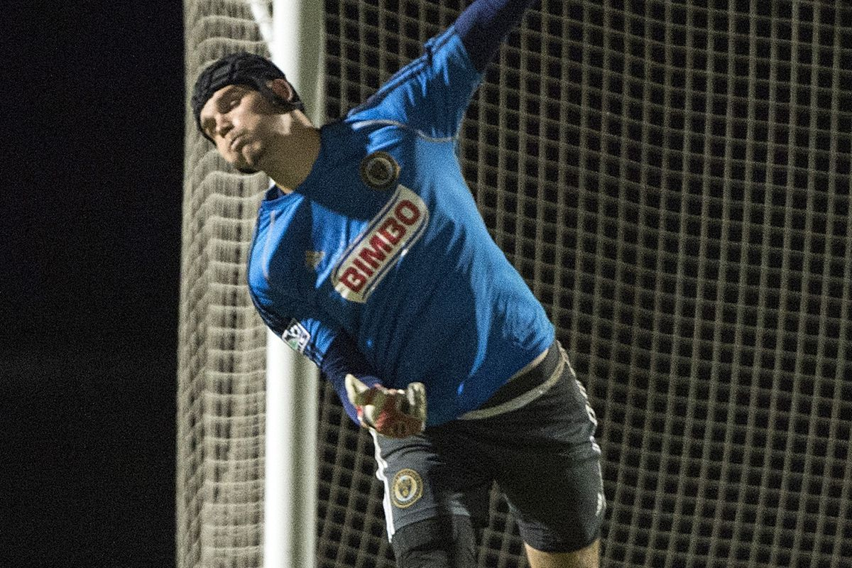 2014 USL PRO Rookie and Goalkeeper of the Year John McCarthy transferred from Rochester to Philadelphia during preseason