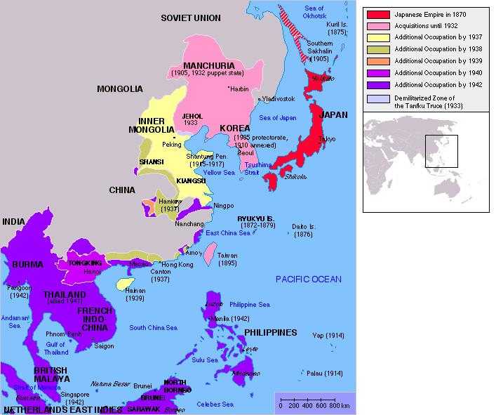 Maps That Explain North Korea Vox - Map of japan and korea