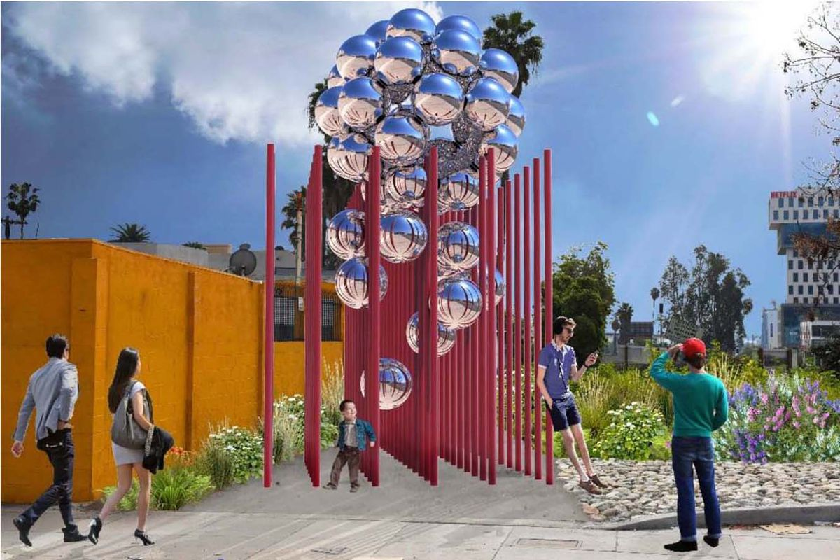 See The Five Options For Little Armenias New Public Art Gateway